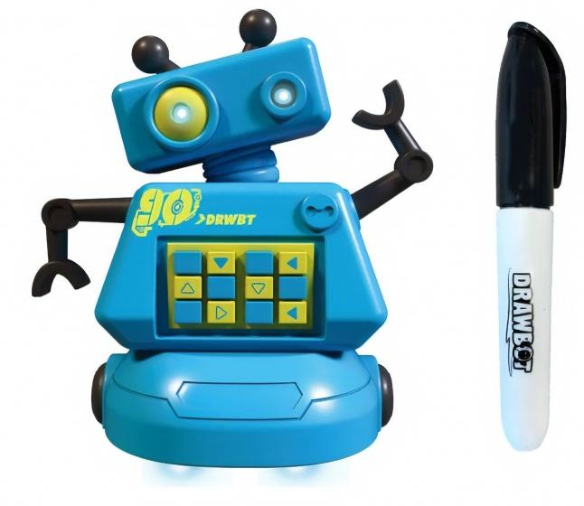 Gear2play interactieve robot Drawbot 8 cm blauw