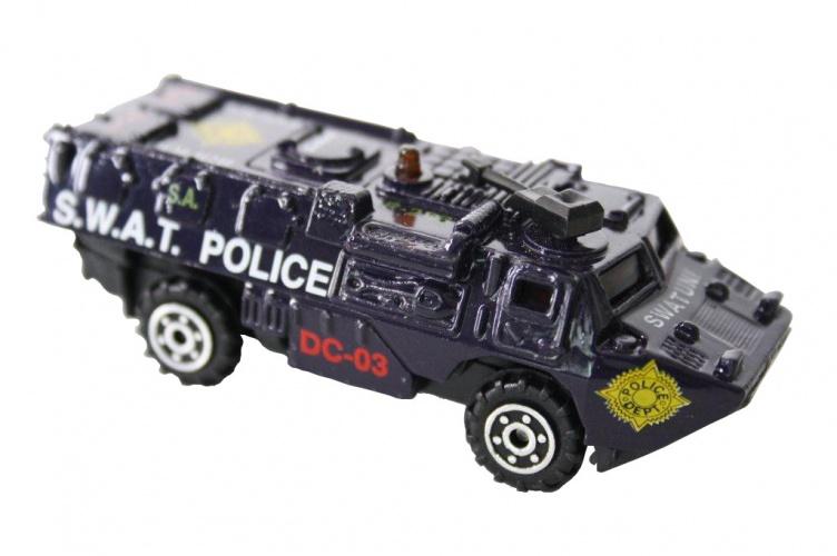 Gearbox Auto Streetmachine S.w.a.t. Police Zwart