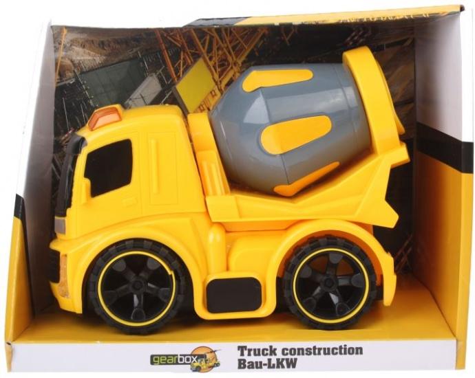 Gearbox Bouwvoertuig constructie: betonwagen