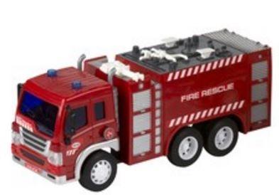 Gearbox Brandweerwagen bluswagen rood