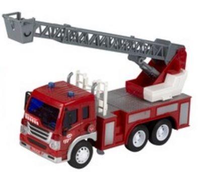 Gearbox Brandweerwagen met ladder rood