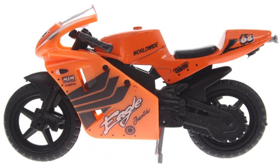 Gearbox Eagle Motor 9 cm oranje/zwart