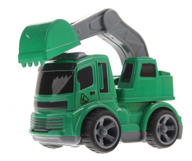 Gearbox Graafmachine Groen 8 cm