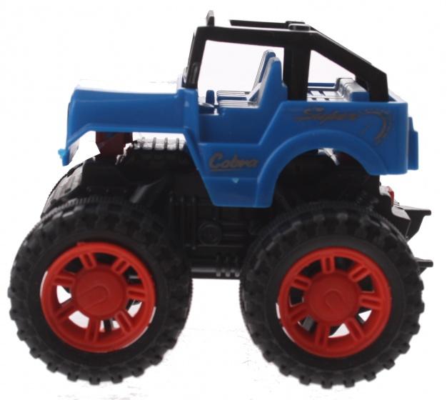 Gearbox jeep blauw kunststof 10 cm