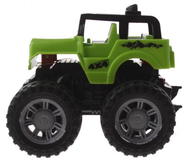 Gearbox jeep groen kunststof 10 cm