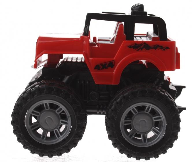 Gearbox jeep rood kunststof 10 cm