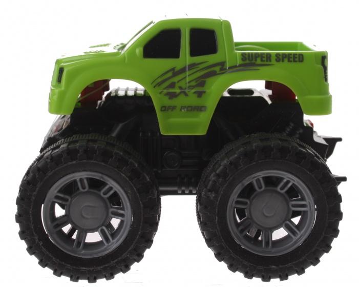Gearbox monstertruck groen kunststof 10 cm