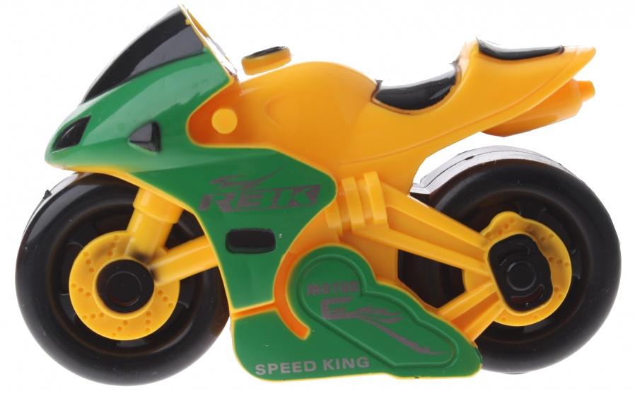 Gearbox motor kunststof geel/groen 12 cm