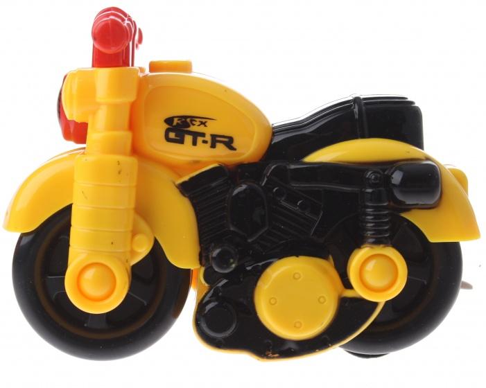 Gearbox motor kunststof geel/rood 12 cm