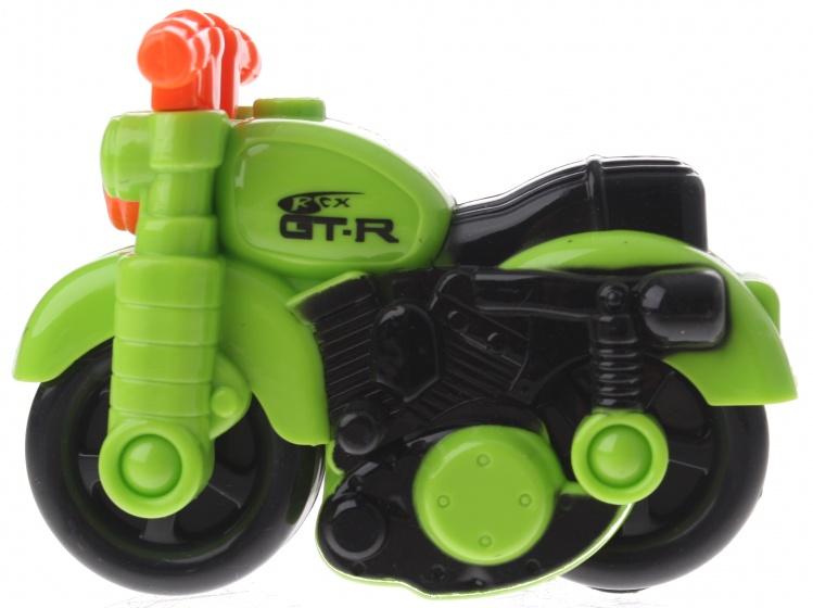 Gearbox motor kunststof groen/oranje 12 cm