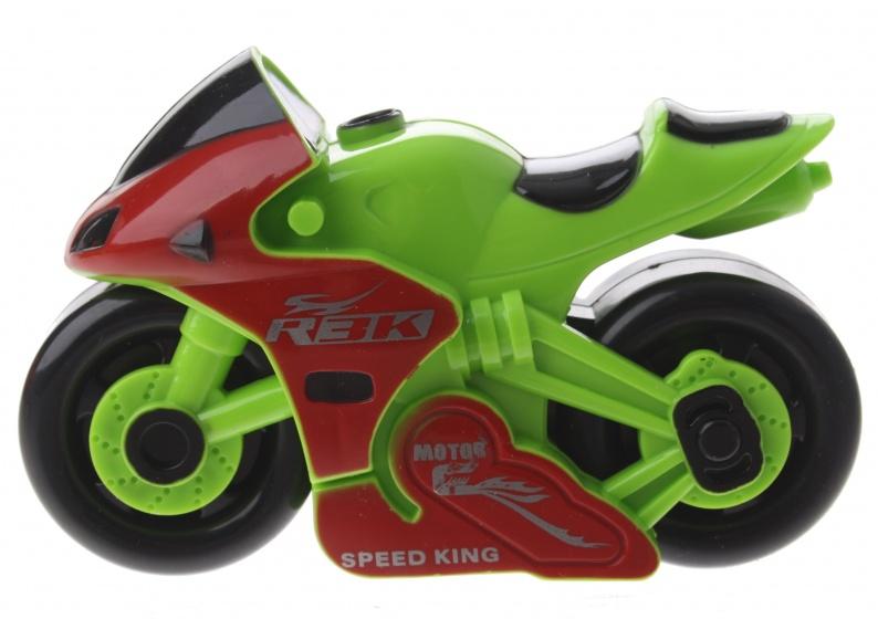 Gearbox motor kunststof groen/rood12 cm