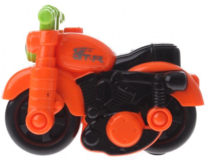 Gearbox motor kunststof oranje/groen 12 cm