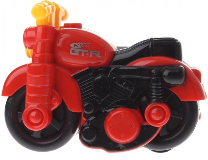Gearbox motor kunststof rood/geel 12 cm