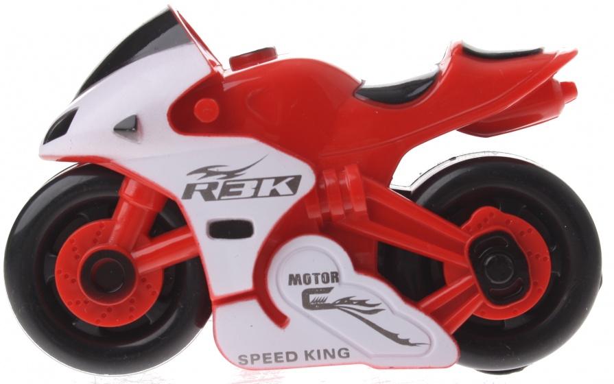 Gearbox motor kunststof rood/wit 12 cm