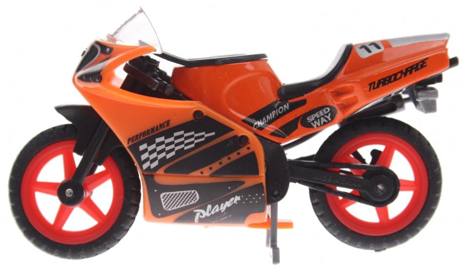 Gearbox Player Motor 9 cm oranje