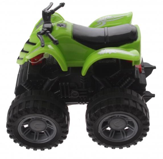 Gearbox quad groen kunststof 10 cm