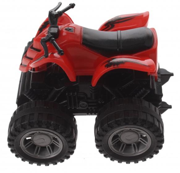 Gearbox quad rood kunststof 10 cm
