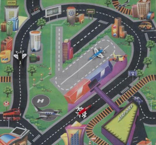 Gearbox Speelkleed vliegveld 80 x 70 cm