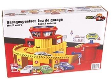 Gearbox Speelset garage met brug 28 x 19 x 20 cm