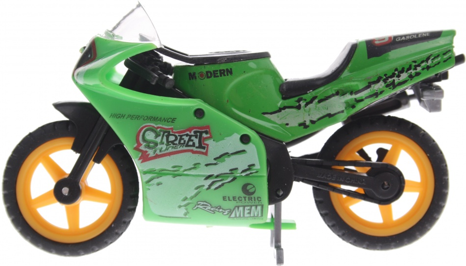 Gearbox Street Motor 9 cm groen