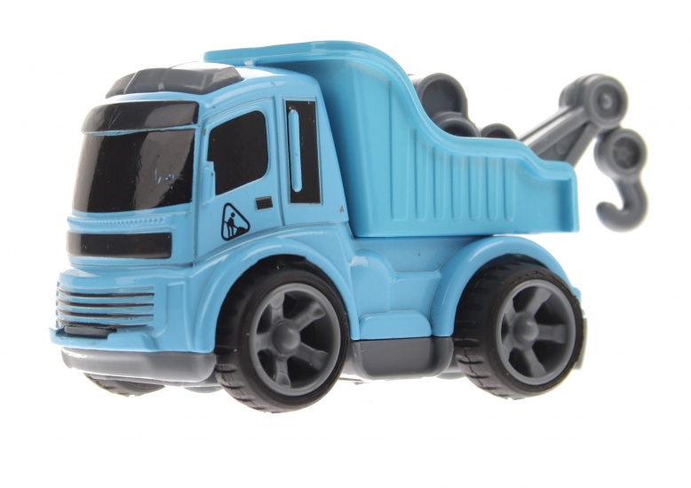 Gearbox Takelwagen Blauw 8 cm