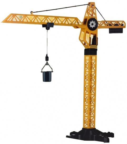 Gearbox torenkraan jongens geel 57 cm
