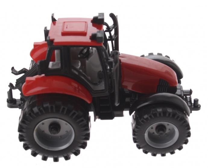 Gearbox tractor jongens 13 cm rood
