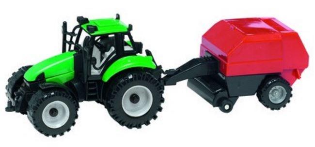 Gearbox Tractor met grasperser groen