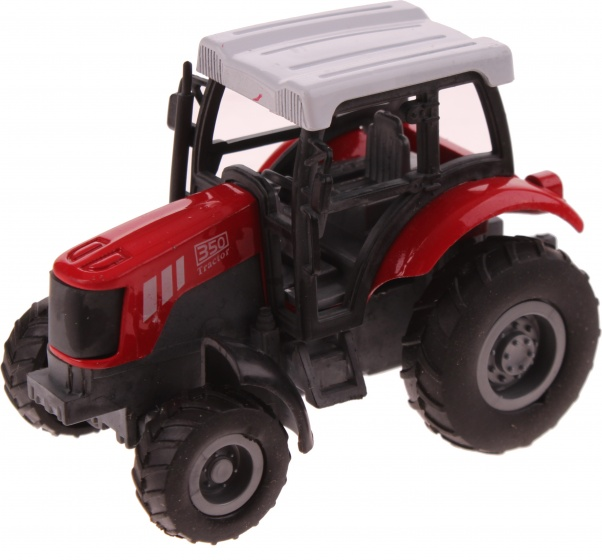Gearbox Tractor rood: 1:43