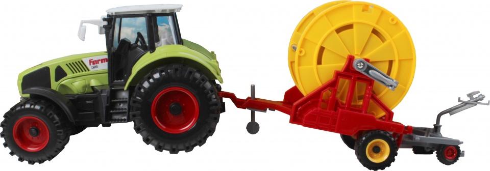 Gearbox tractor speelset 2 delig 44 cm groen