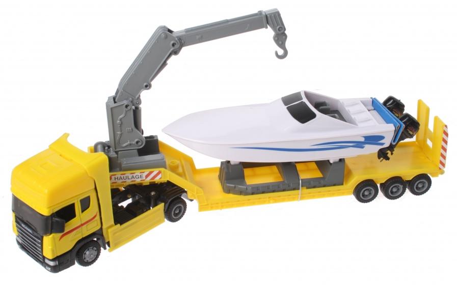 Gearbox Vrachtwagen & Powerboot Geel