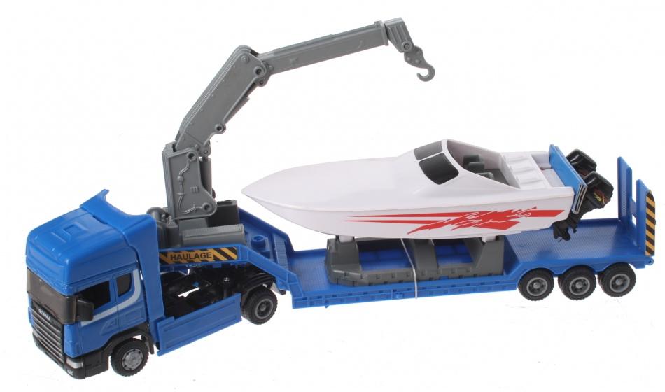 Gearbox Vrachtwagen & Powerboot Blauw
