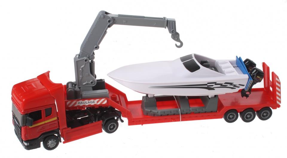 Gearbox Vrachtwagen & Powerboot Rood