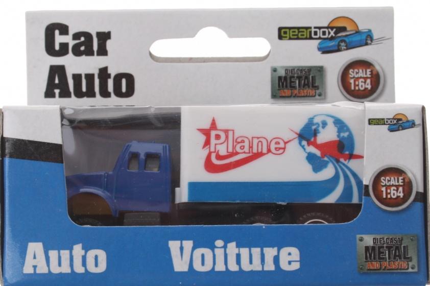 Gearbox vrachtwagen wit staal 8 cm