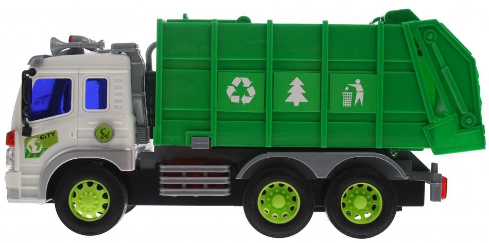 Gearbox Vuilniswagen groen 27 cm