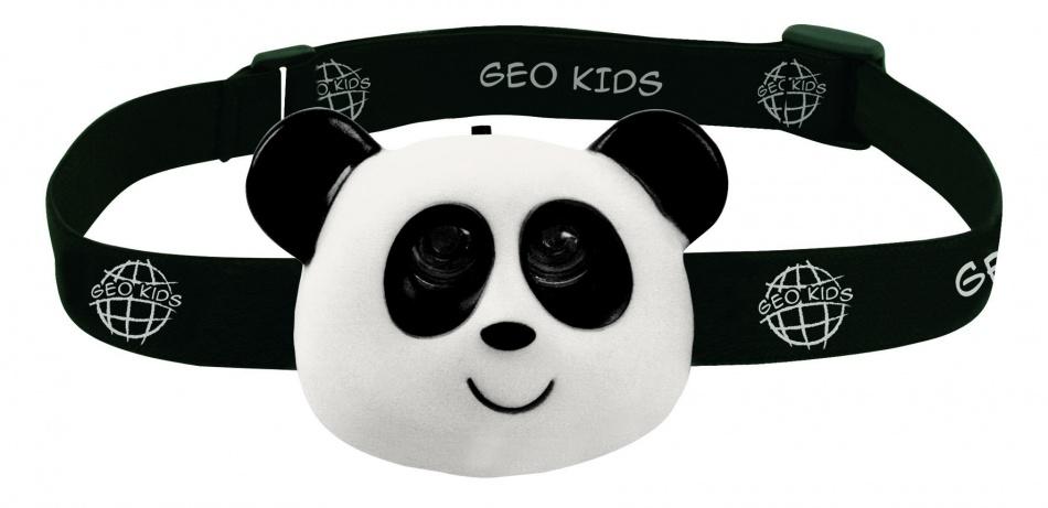 GEO Kids hoofdlamp panda 8.5 x 6.2 x 3.4cm