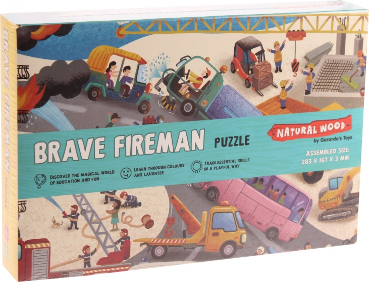Gerardo's Toys legpuzzel Dappere Brandweermannen 48 stukjes