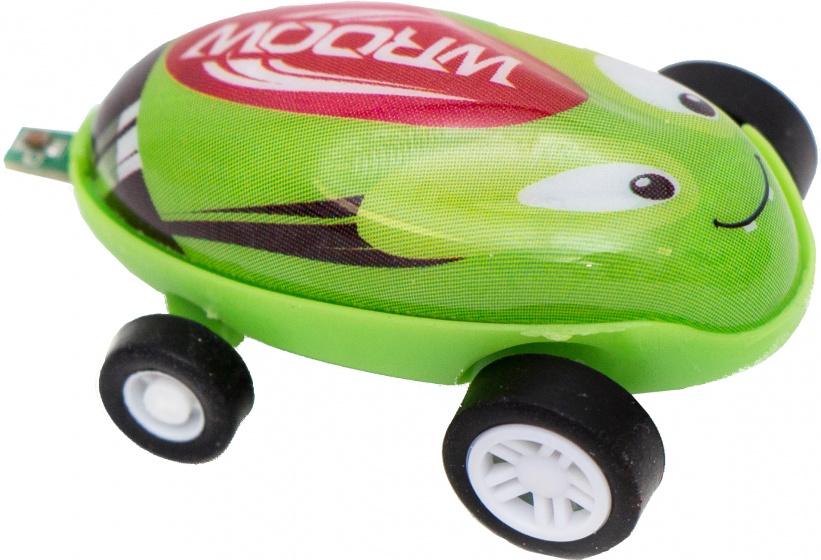 Gerardo's Toys raceauto Wroow accu groen 4,6 cm
