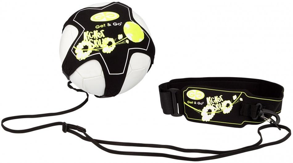 Get & Go voetbalvaardigheidstrainer zwart/geel/wit