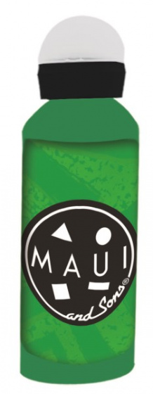 Giovas bidon Maui and Sons roestvrij staal 580 ml groen