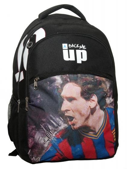 Giovas rugtas Messi zwart 25,8 liter