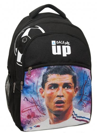 Giovas rugtas Ronaldo zwart 25,8 liter