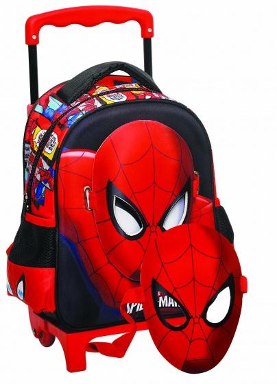Giovas trolley/rugtas met masker Avengers: Spider Man 7,2 liter kopen