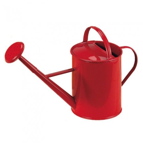 Metalen kindergieter, rood