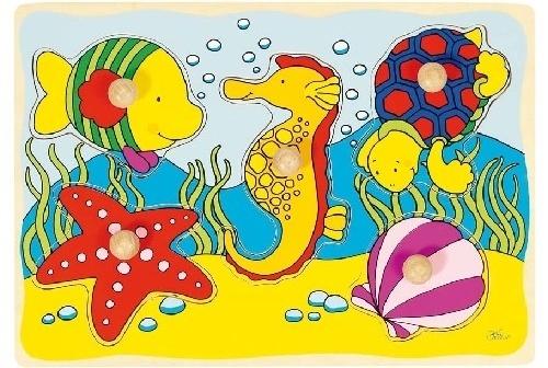 Goki 5 Delige Puzzel Zeepaard