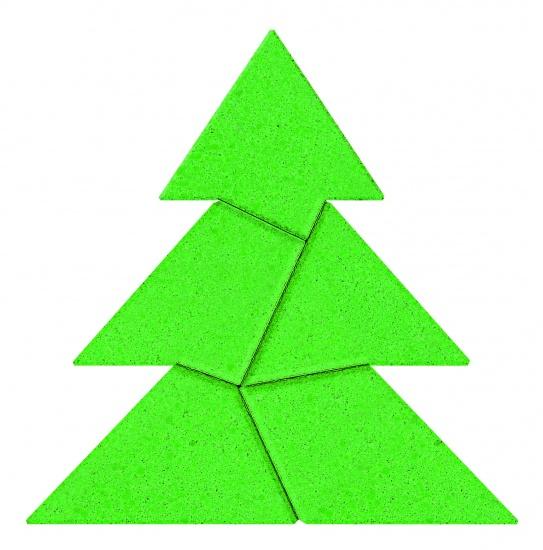 Goki Anker Puzzel Steen: Dennenboom