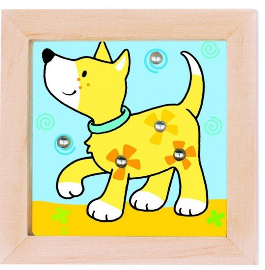 Goki behendigheidsspel hout hond