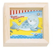 Goki Behendigheidsspel Peggy Diggledey zeehond 7 x 7 x 2 cm