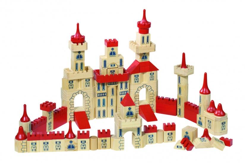 Toys Pure Bouwdoos: Kasteel 150 Delig