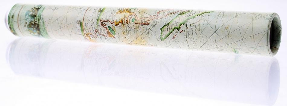 Goki Caleidoscoop Cristal: Landkaart Groen